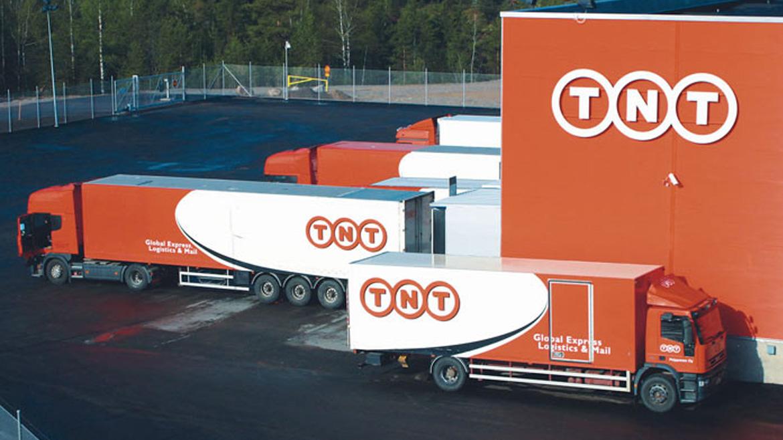 Грузовой терминал международной курьерской службы «TNT», Киевская обл., с.Пролиски